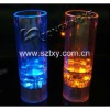 2012 hand printed wine glass in plastic, party decoration