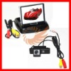 "DC 9V-15V For Peugeot 307 307CC 3.5"" LCD HD Monitor Car Camera Kits [CS119]"