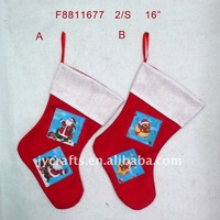 promotional Christmas felt stocking