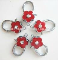 2012 Component Wholesales Enamel flower lobster buckle charm