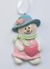 polyresin snowman ornament