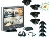 Full D1 h.264 DVR cctv camera kit system