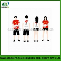 customized sublimation printed polyester T-shirt
