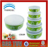 Food container set for hotel or family use