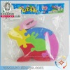 cute educational toy DIY EVA animal puzzles