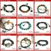 Wholesale latest shamballa bead bracelets with stones