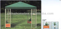 garden pavilion gazebo with flower 10504