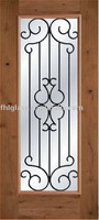 Wrought Iron Glass