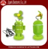 robot green and red USB mini robot fan
