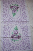 jacquard printed bath towel