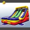 Inflatable Double Lane Colorful Slide