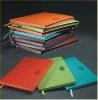 Hardback multicolour PU leather diary
