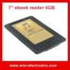7 inch Ebook reader with speaker TFT