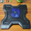 Classic design usb power notebook cooler pad with LED