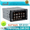 wholesale Universal 2 din car dvd player with GPS 3G and Bluetooth