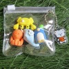 animal mini erasers