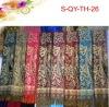 Fashion acrylic scarves with fringes