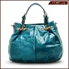 Christmas new dsign fashion & vintage ladies genuine leather tote bag
