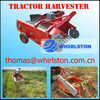TRACTOR GINGER HARVESTING MACHINE