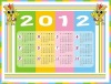 2012 wall calendar printing service