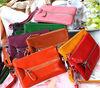 Genuine leather key holder & phone bag & fashion women purse