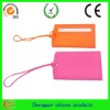 waterproof customed silicone hotel luggage tag for travel