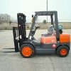 3 Ton gasoline LPG dual forklift truck