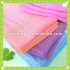 100% cotton baby napkin plain color /check