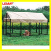 Well designed luxury cheap dog house for sale with waterproof and bowls