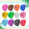 Cheap silicone jelly watches ladies