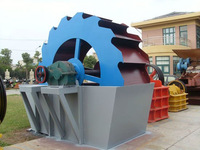 High-efficiency cricoid sand washing machine