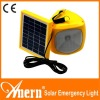 Portable 1W 6V Solar Emergency Light With 4 Setting Of Light Brightness