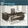 PG-W02 modern design black solid wood coffee tables