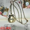 Unique cheap wallet metal pocket watch wholesale