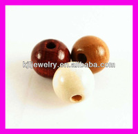 WD020 Round Wood Beads For Jewelry & Natural Round Wood Beads Jewelry