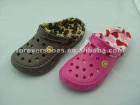 New warmlining design winter garden shoes