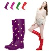 Latest design ladies spot with rain boots