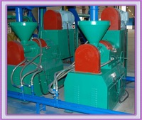 Waste Tire Recycling Line Rubber Grinder