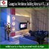 2012 WS-BGW179 new design customize TV background wall