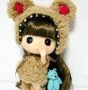 2012 new design of sweet Mini sweet Korea Ddung doll