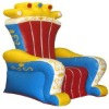 inflatable throne King's chair, Queen chair for kids' party events K3025
