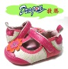 hot pink rosette baby shoes Dbaby-2002