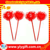 2012 Novelty and hot sale pen with red heart for valentine's day gift