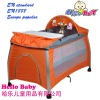 EN standard luxury Aluminum frame full set baby playpen bed