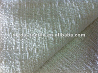 Y/D woven cotton/polyester blended boucle fabric