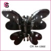 2012 Black Acrylic Hair Claws with Butterfly Design SC-13322