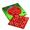 Cardboard game tic tac toe set