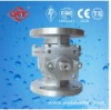 JIS CF8 Flanged Floating Ball Valve