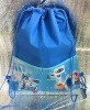 non woven backpack with front pockets