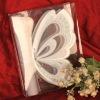 T192----Christening Butterfly Invitation Card
